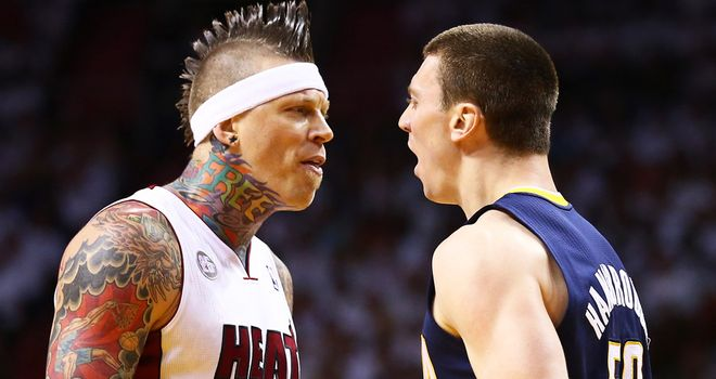 Chris Andersen: Miami Heat forward suspended for one game