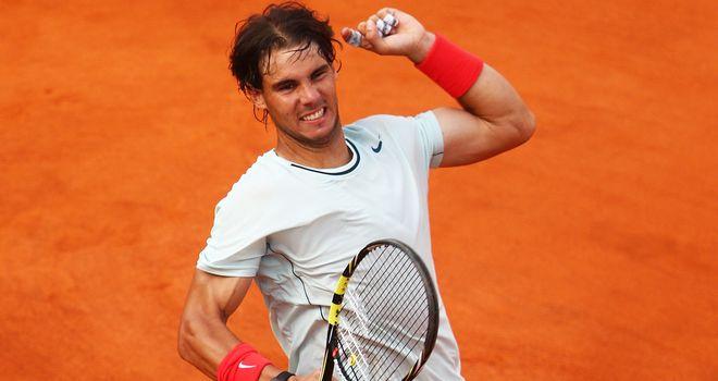 Rafa Nadal: Rome master against Federer