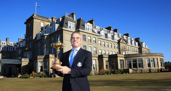 Paul McGinley: Irishman succeeded Jose Maria Olazabal as European Ryder Cup captain