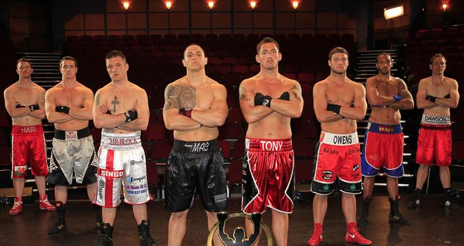 Prizefighter - Cruiserweights III contestants (Images courtesy of Lawrence Lustig/Matchroom)