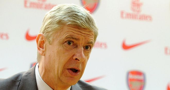 Arsene Wenger: Looking for top-four finish