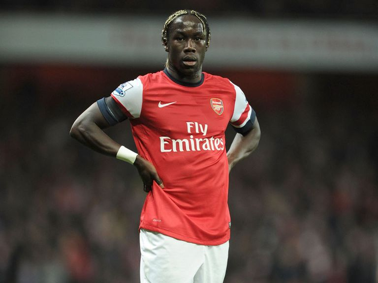 Bacary Sagna: Suffering from a hamstring injury