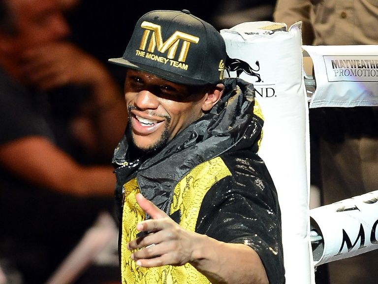 Floyd Mayweather: Now set to fight Saul Alvarez