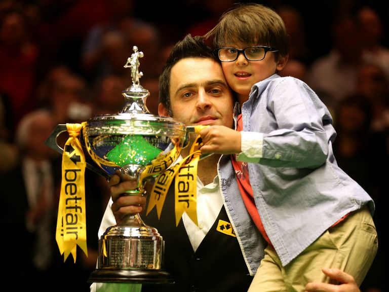 Ronnie O'Sullivan: Bidding for a third successive world title