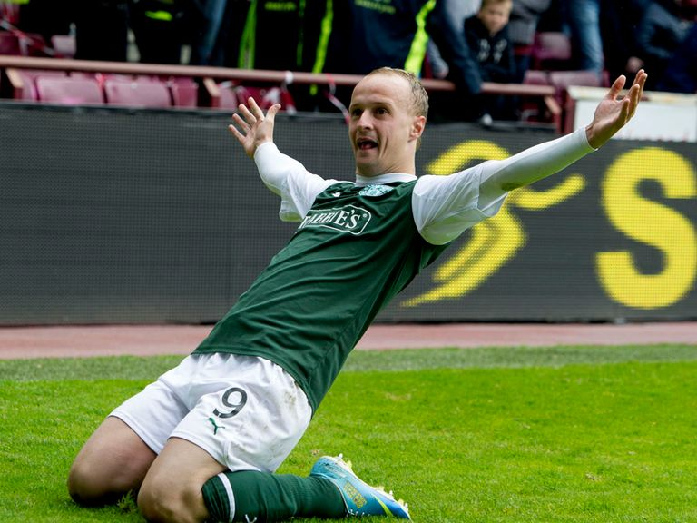 Leigh Griffiths: Called up to face Croatia