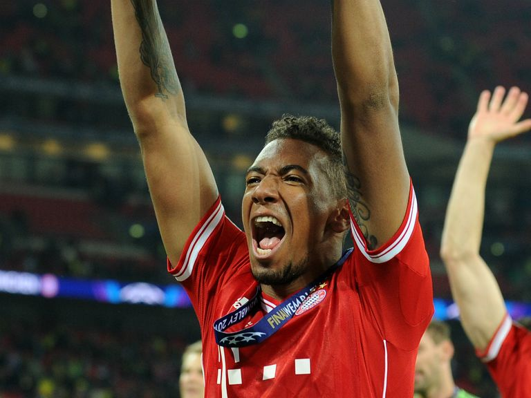 Jerome Boateng: Celebrating last year's triumph