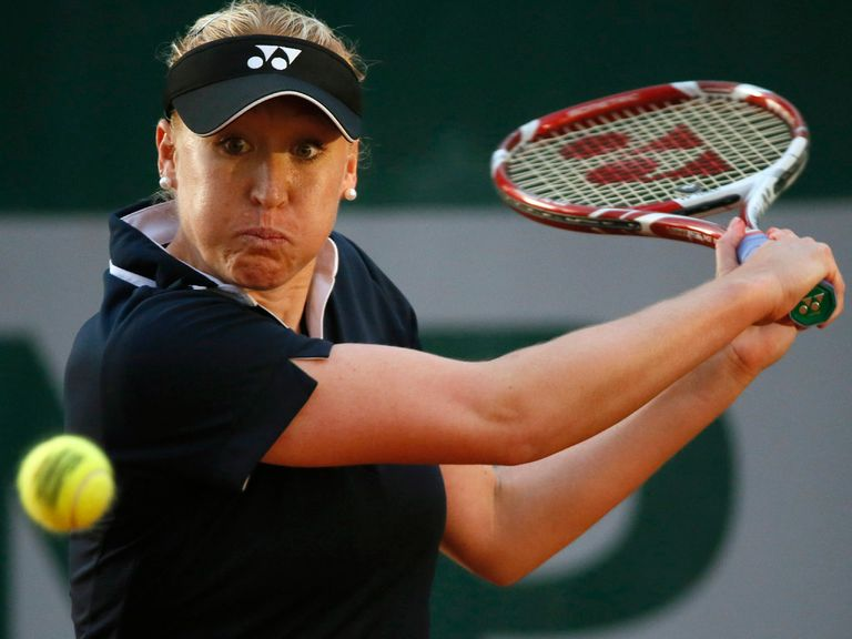 Elena Baltacha: 'I've just got to keep working'