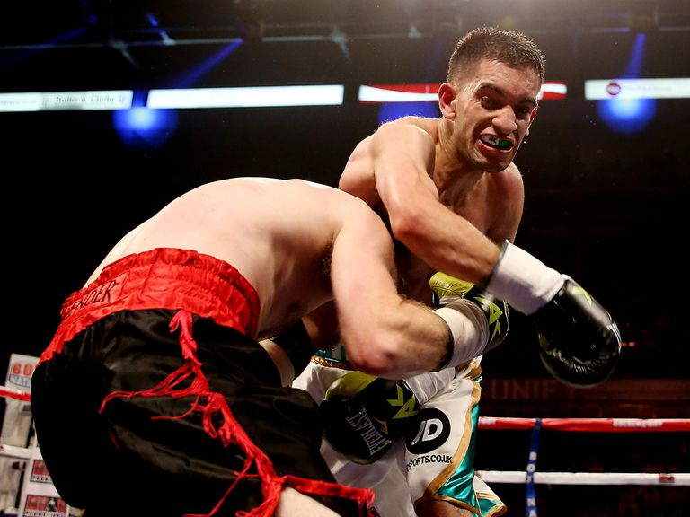Haroon Khan: Will return to the ring on November 15