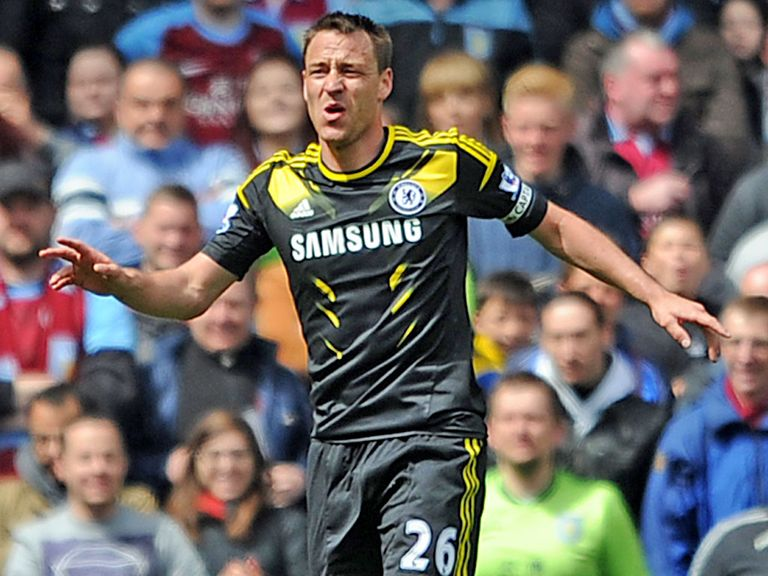 John Terry: Will remain as Chelsea captain when he starts