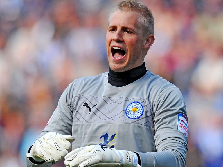 Kasper Schmeichel: Not thinking about the Premier League just yet