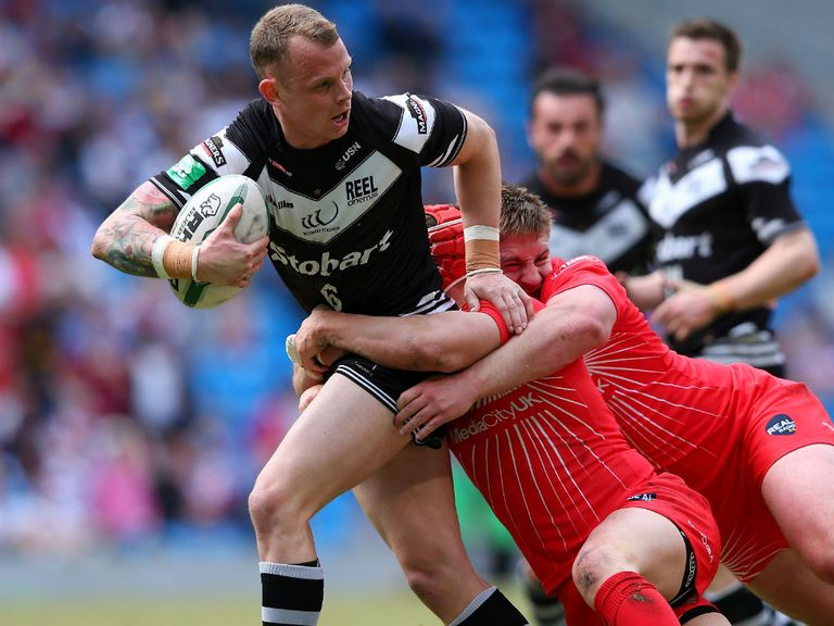 Kevin Brown's return provides a boost for Widnes
