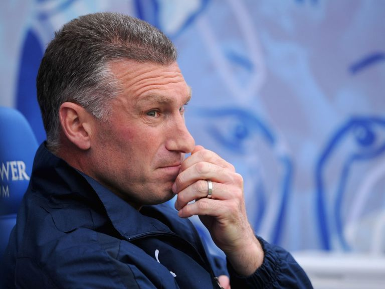 Nigel Pearson: Prepares for Manchester City test