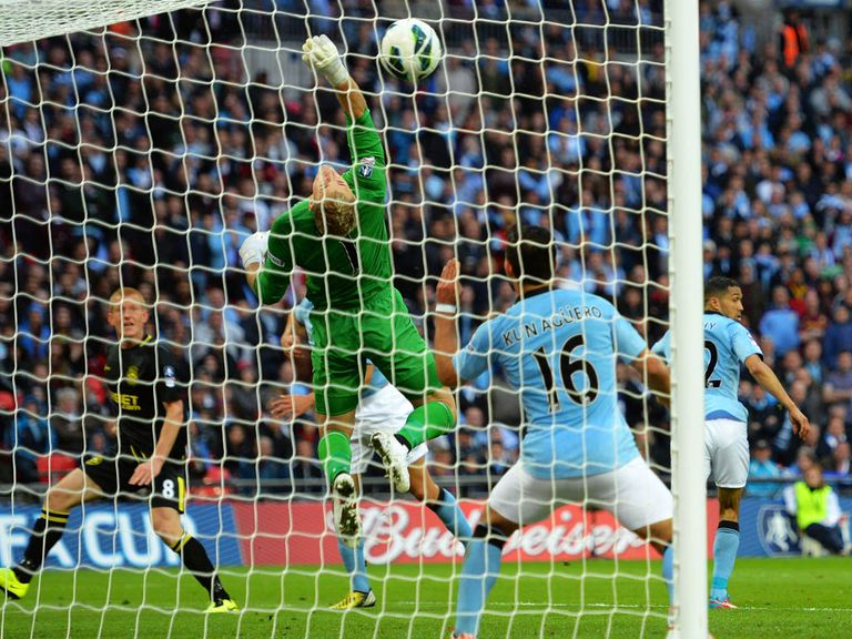 Manchester City hope for FA Cup revenge against Wigan on Sunday