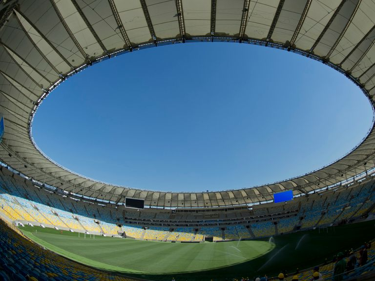 Rio's famous Maracana stadium will stage the World Cup final in 2014
