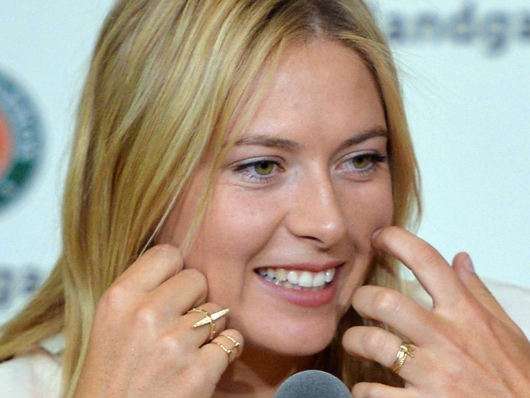 Sharapova: Defends the title in Paris