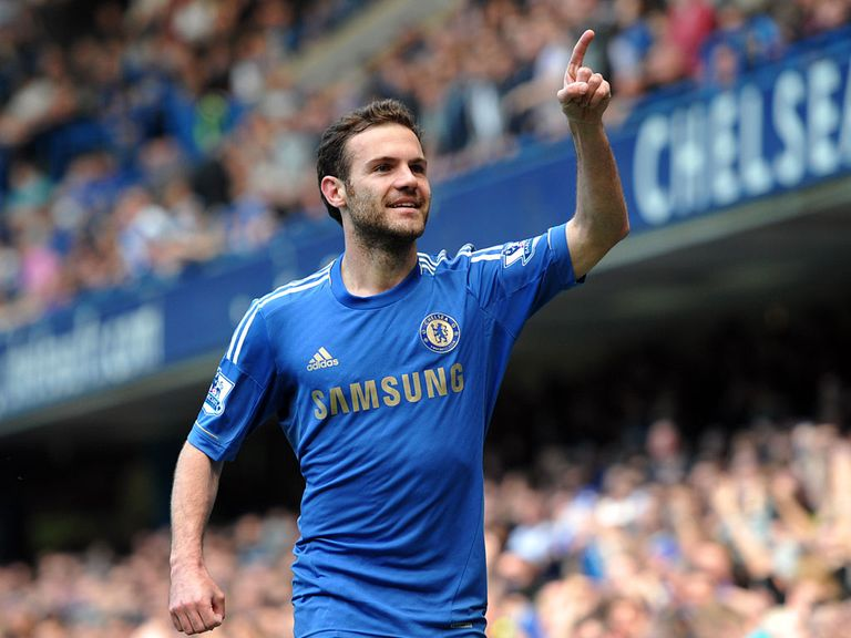 Juan Mata: Benched against Manchester United, but only to give him a rest