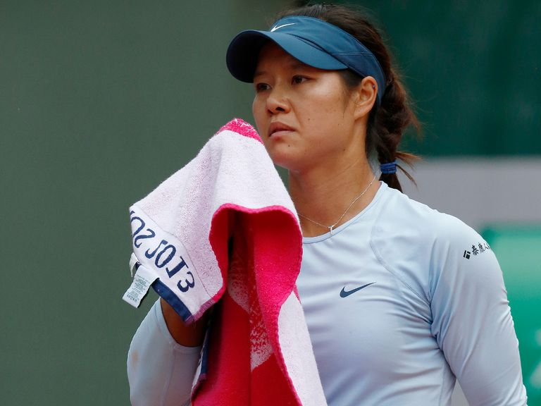 Li Na: Out of the French Open