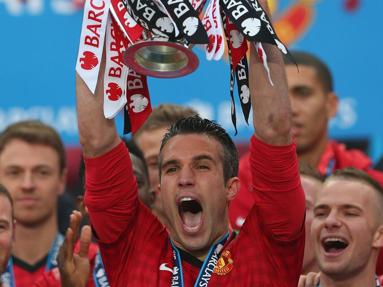 Robin van Persie: Manchester United's top goalscorer this season