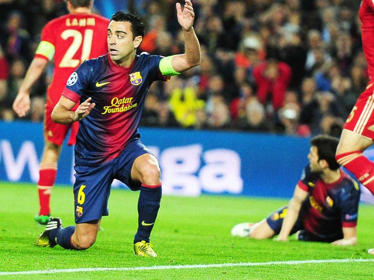 Xavi: Is confident Barcelona will recover from their Champions League humbling