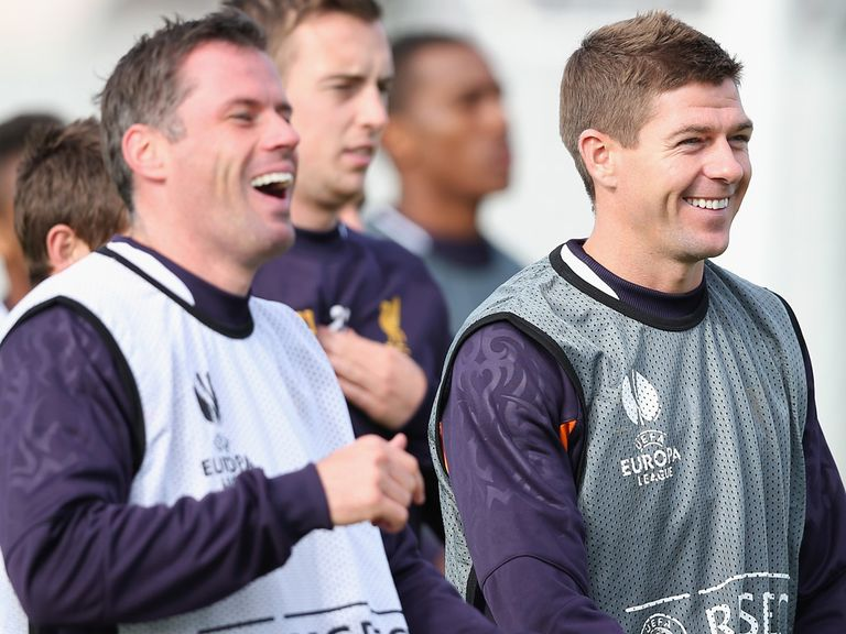 Gerrard wants a final derby victory for Carragher