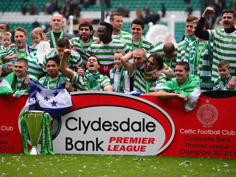 Celtic are of course once again favourites to win Scottish football's top prize.