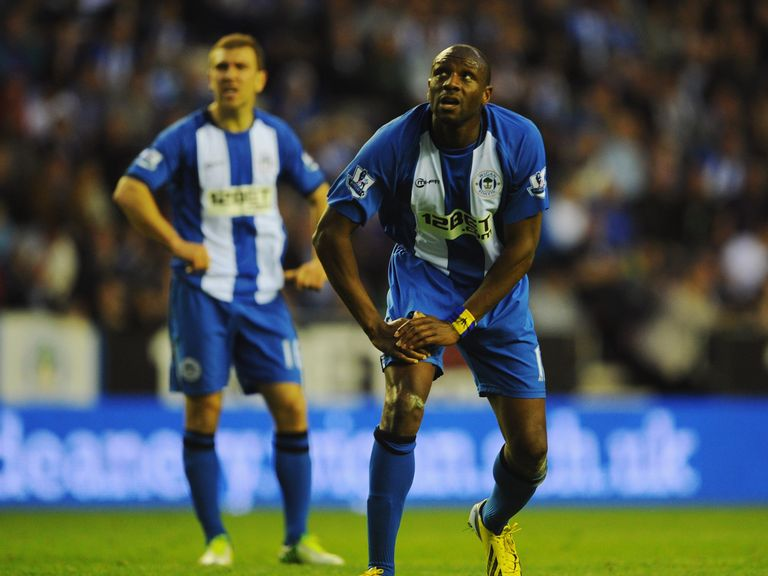 Wigan remain in the drop zone following their loss to Swansea
