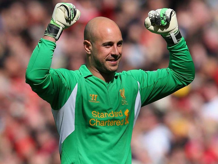 Reina: No anger towards Liverpool