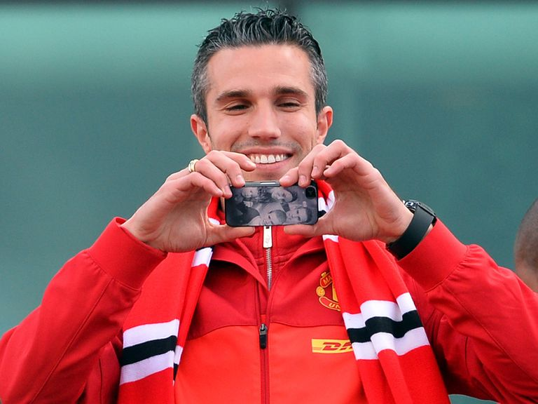 Robin van Persie: Set for Golden Boot award