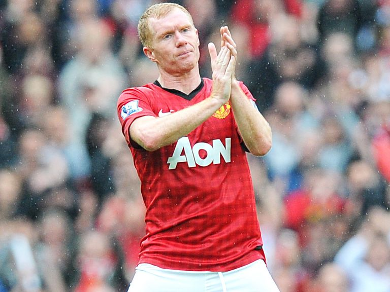 Paul Scholes: Will play against Real Madrid legends