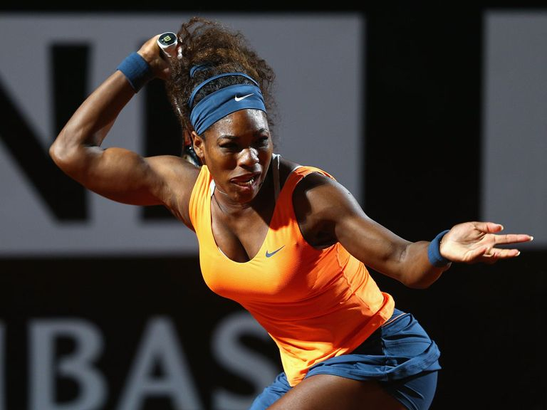 Serena Williams: Faces Azarenka