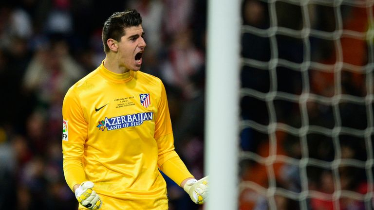 Thibaut Courtois: Third loan spell with Atletico Madrid