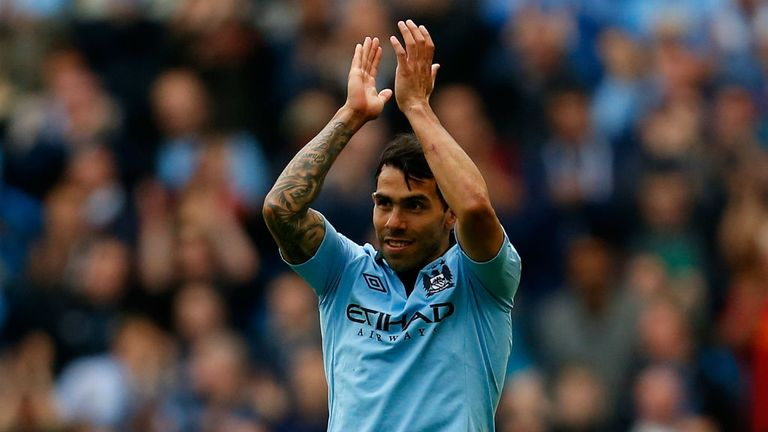 Carlos Tevez: Set to say goodbye to Manchester City