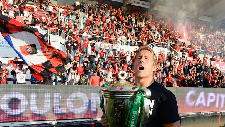 Jonny Wilkinson's Toulon won their first Heineken Cup last month