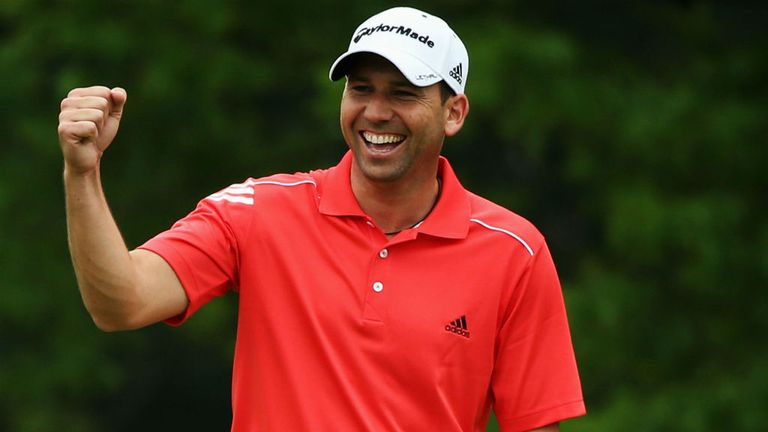 Sergio Garcia: In confident mood at Merion despite off-course troubles