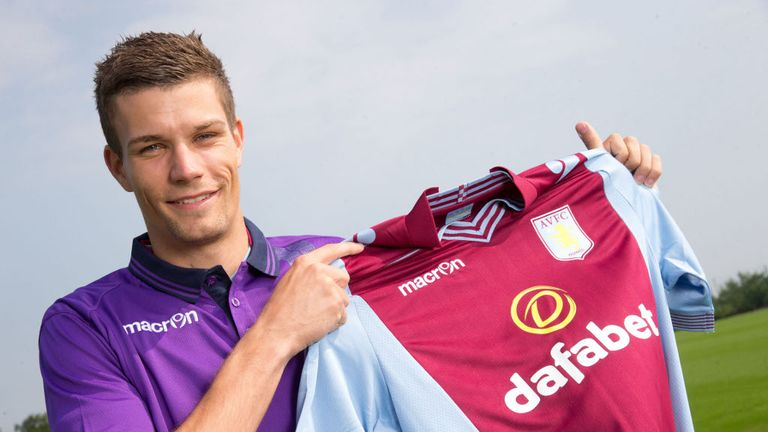 Nicklas Helenius: Becomes Aston Villa's fourth signing of the summer