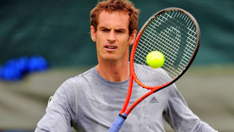 Andy Murray prepares for Robredo match-up