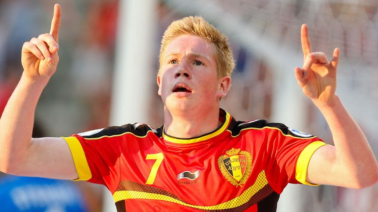 Kevin De Bruyne fired Belgium into the lead