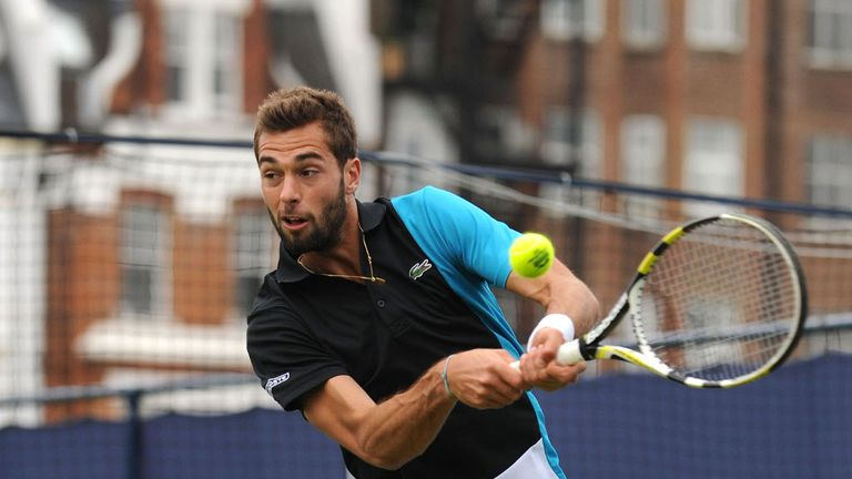 Benoit Paire: Secured spot in the second round of If Stockholm Open