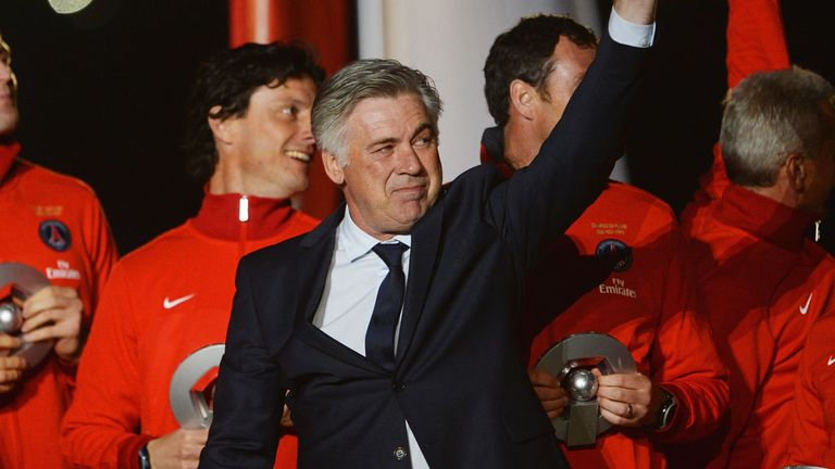 Carlo Ancelotti: Will leave Paris for Madrid