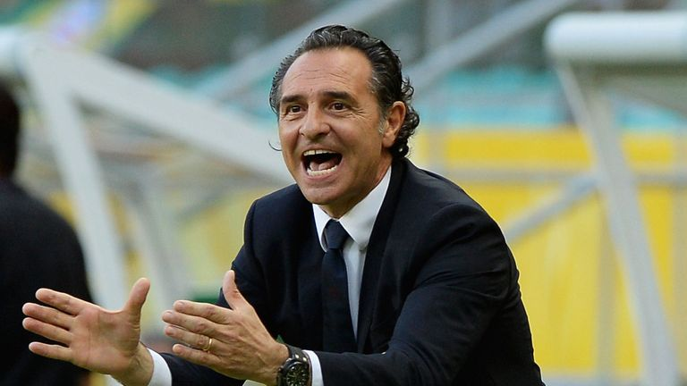 Cesare Prandelli: Delighted with Italy's World Cup qualfication