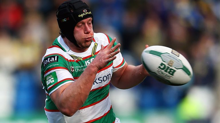 Chris Hill: Hoping to feature for England in Friday's clash against the Exiles