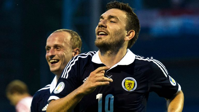 Robert Snodgrass: On target for Scotland