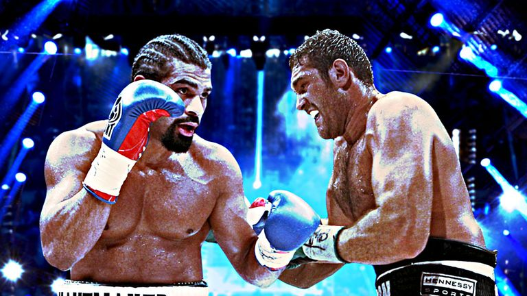 Haye v Fury: live on Sky Sports HD Box Office on September 28