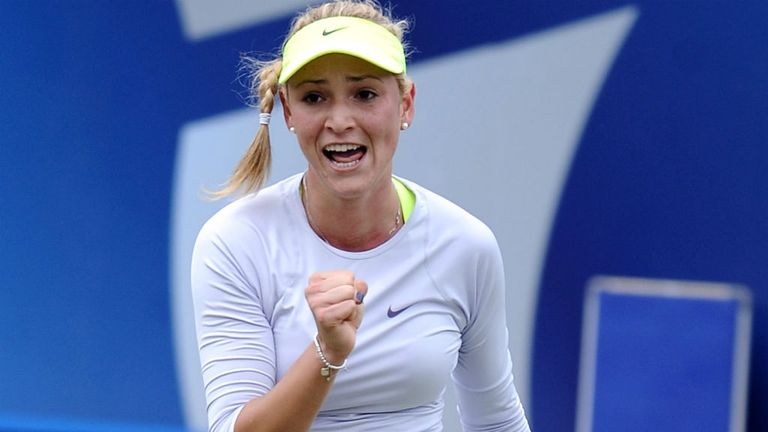 Donna Vekic: world number 64 is the youngest player in the top 100 of the rankings