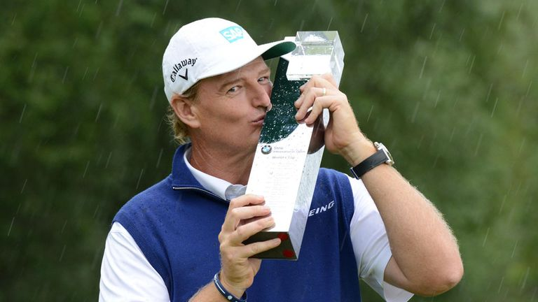 Ernie Els: Birdied the last to clinch victory