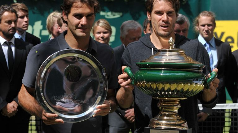Roger Federer: Beaten by Tommy Haas in last year's final at Halle