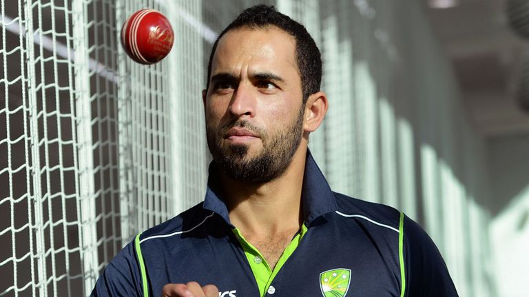 Fawad Ahmed could make Australia's side for summer's Ashes series