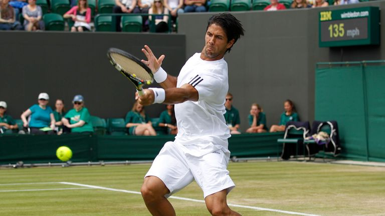 Fernando Verdasco: Spaniard surrendered two-set lead against Andy Murray in Wimbledon quarter-final