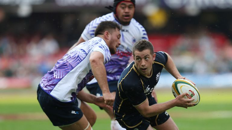 Greig Laidlaw: Kicked 12 points in Scotland's defeat to Samoa in Durban