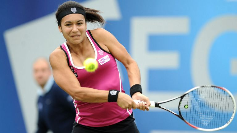 Heather Watson: Returned at the French Open after time out with glandular fever